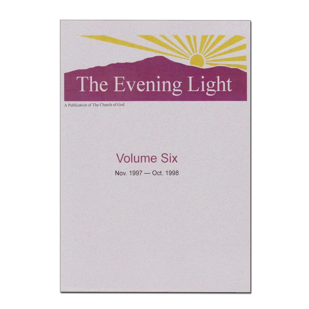 The Evening Light: Volume 6 (1997-1998)