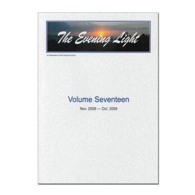 The Evening Light: Volume 17 (2008-2009)