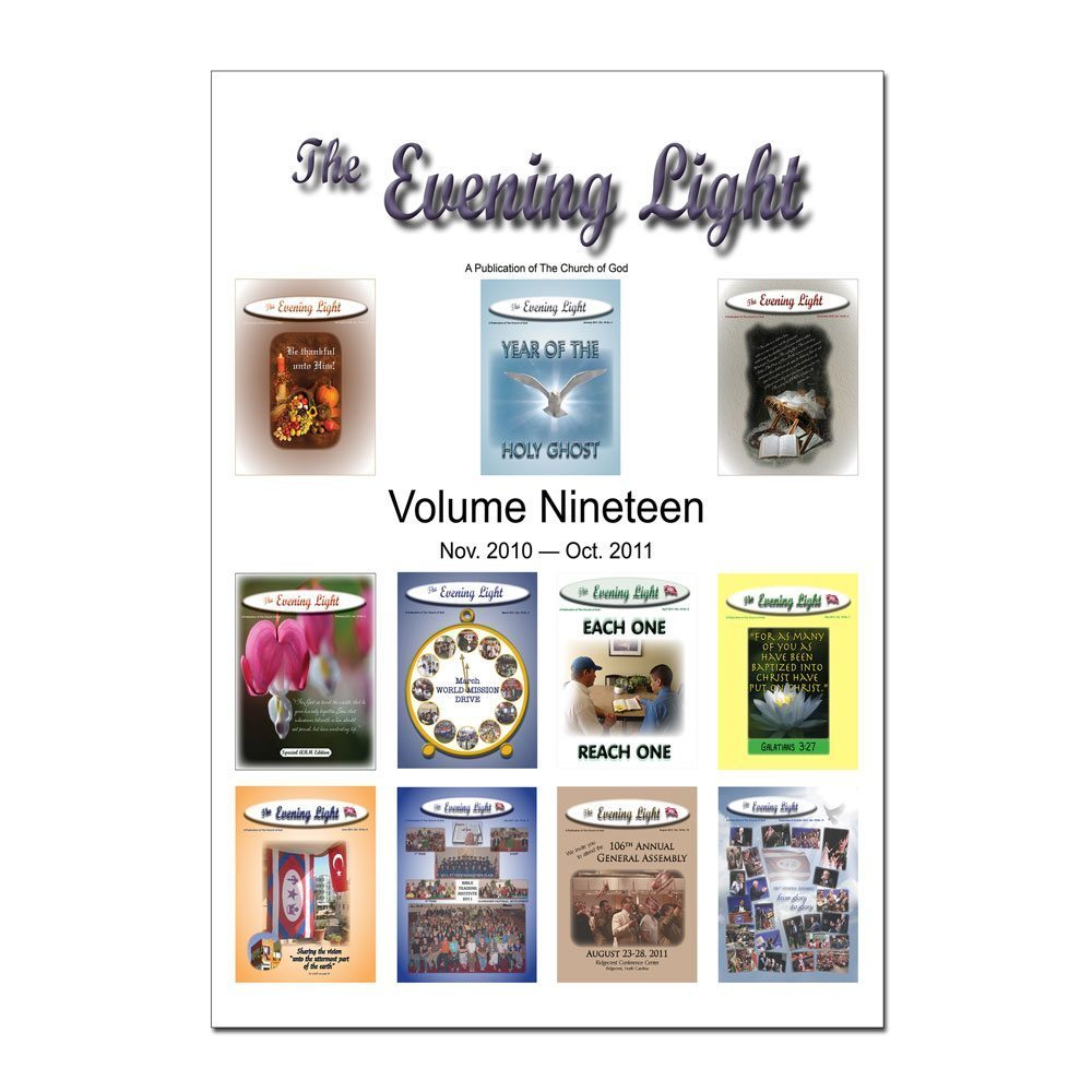 The Evening Light: Volume 19 (2010-2011)