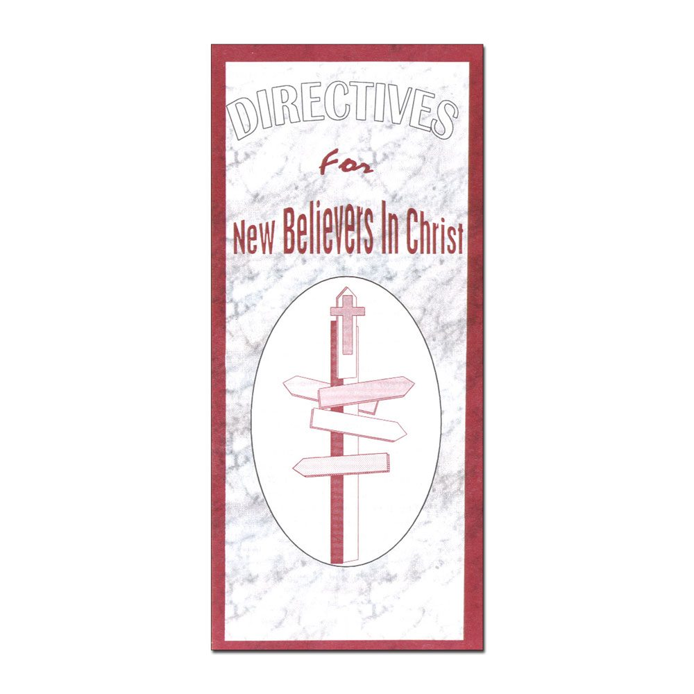 Directives for New Believers