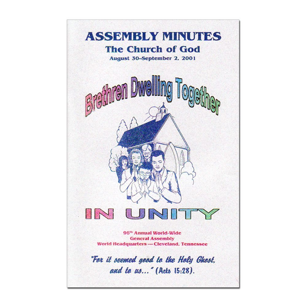 96th Annual Assembly Minutes (2001)