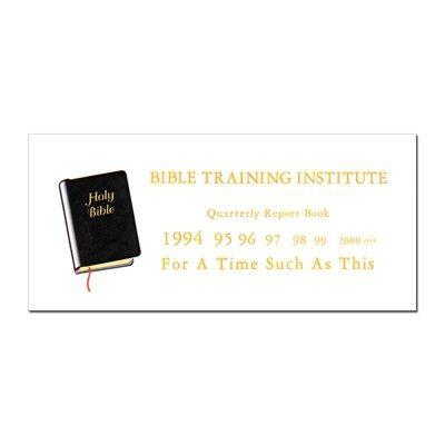 BTI Report Book