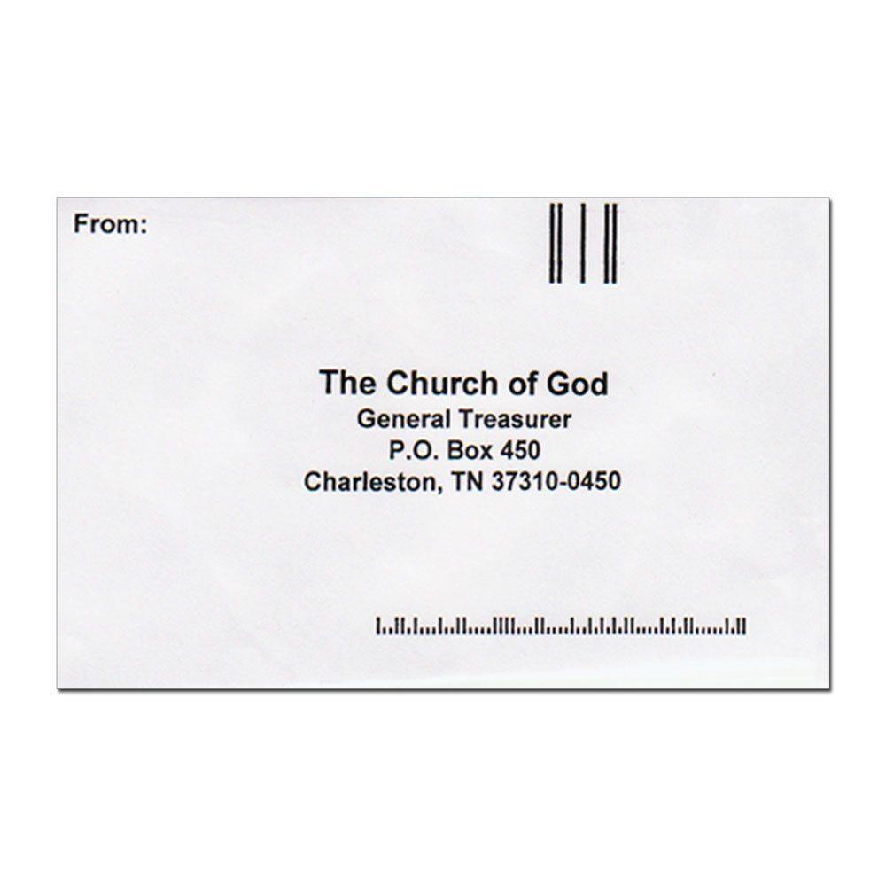 Pre-Addressed Return Envelopes