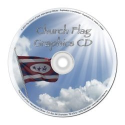 Church Flag Graphics CD