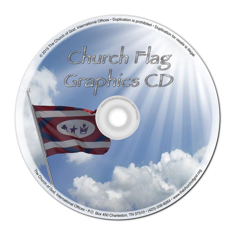 Church Flag Graphics CD