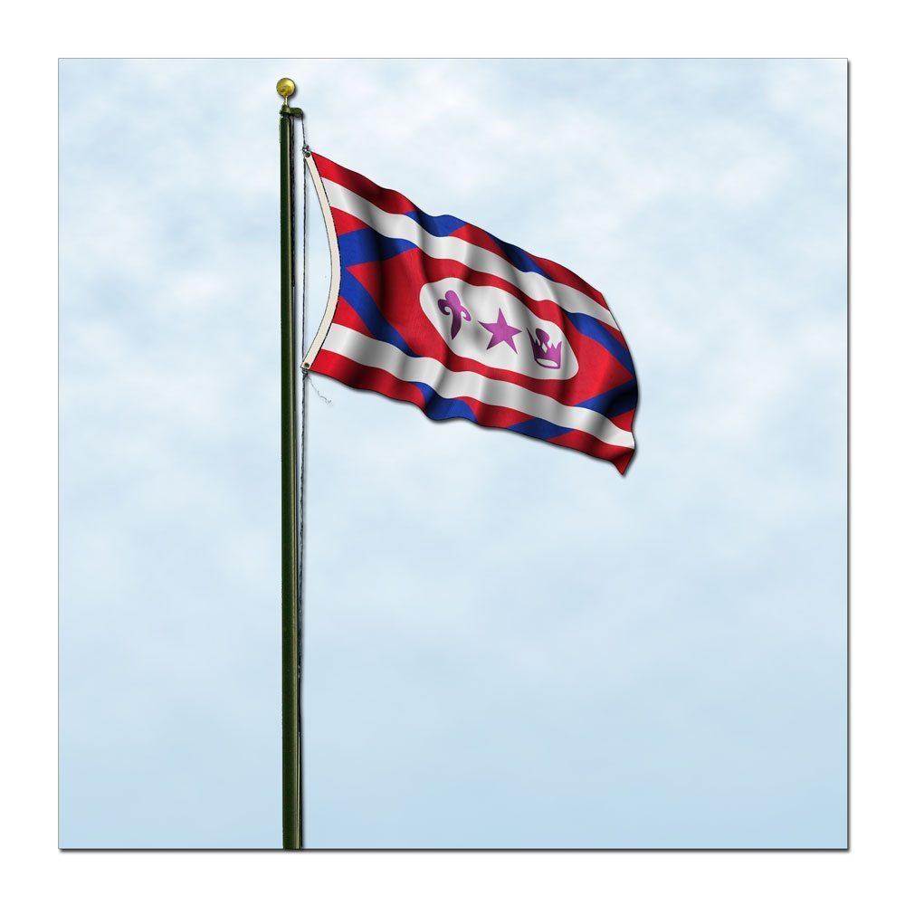 Church Flag (Outdoors)