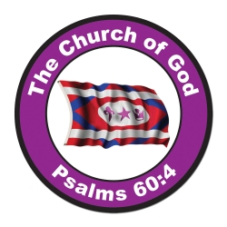 Church Flag Magnet