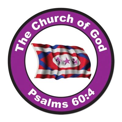 Church Flag Magnet