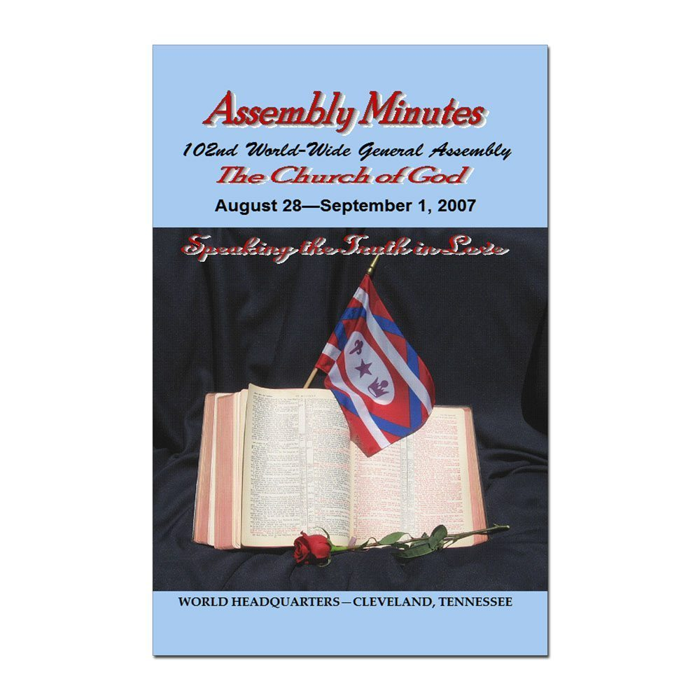 102nd Annual Assembly Minutes (2007)
