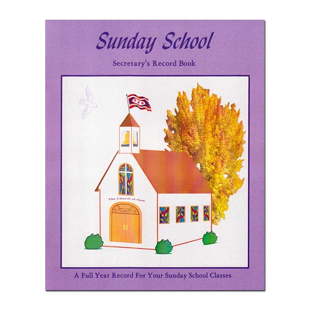 Sunday School Secretary's Record Book