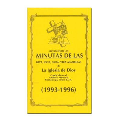 88th-91st Assembly Minutes (1993-1996) - Spanish