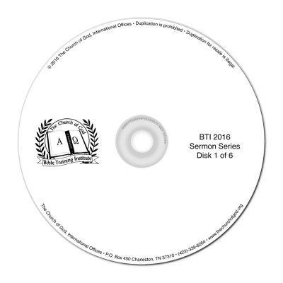 BTI 2016 Sermon CD Collection