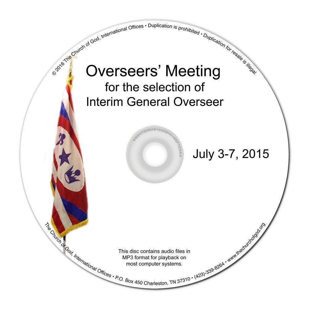 Overseers Meeting - 2015