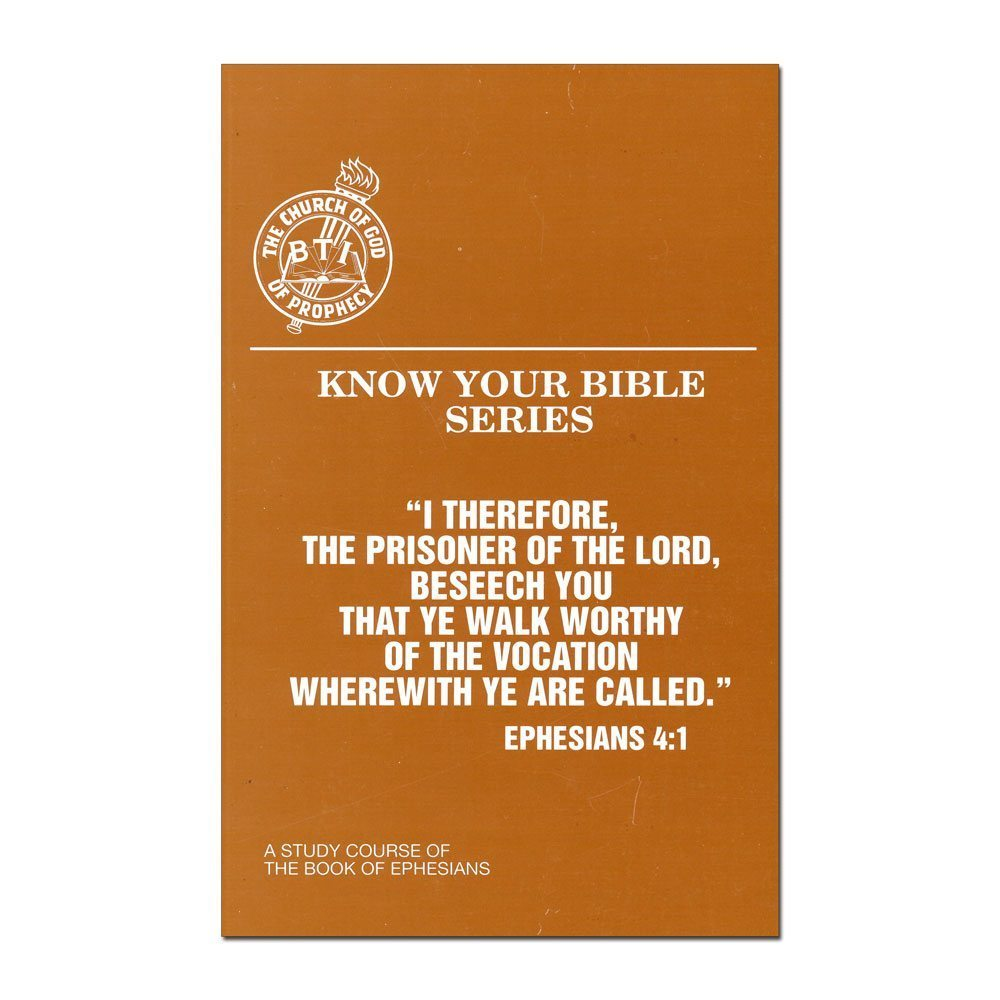 Know Your Bible Series: The Book of Ephesians
